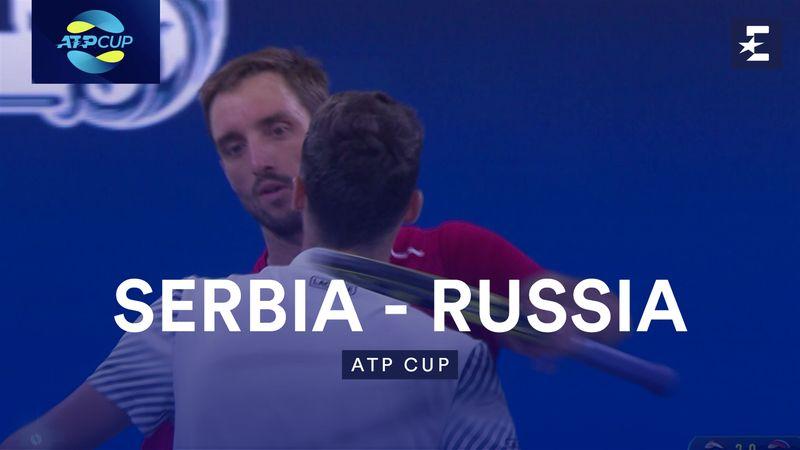 Høydepunkter: Serbia - Russia