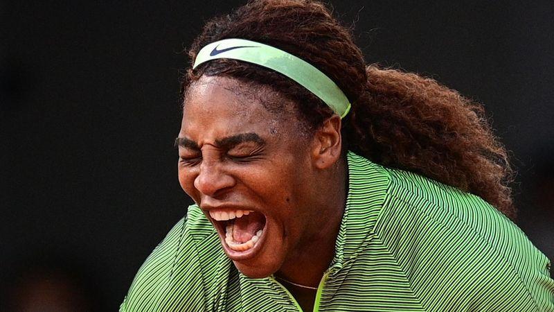 Serena Williams-Mihaela Burzanescu: Reacción de campeona