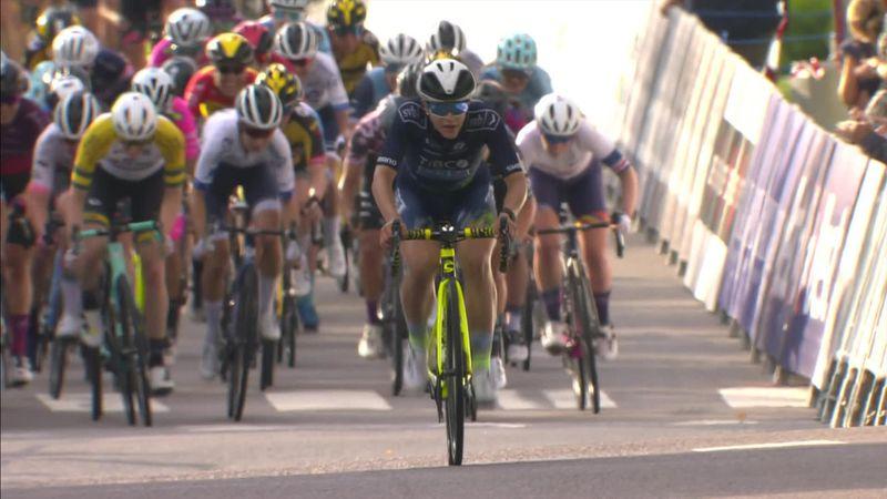 Tour of Norway: Highlights as Kristen Faulkner secures milestone win