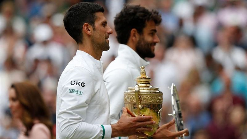 Berrettini eroico, Djokovic è leggenda: il film della finale