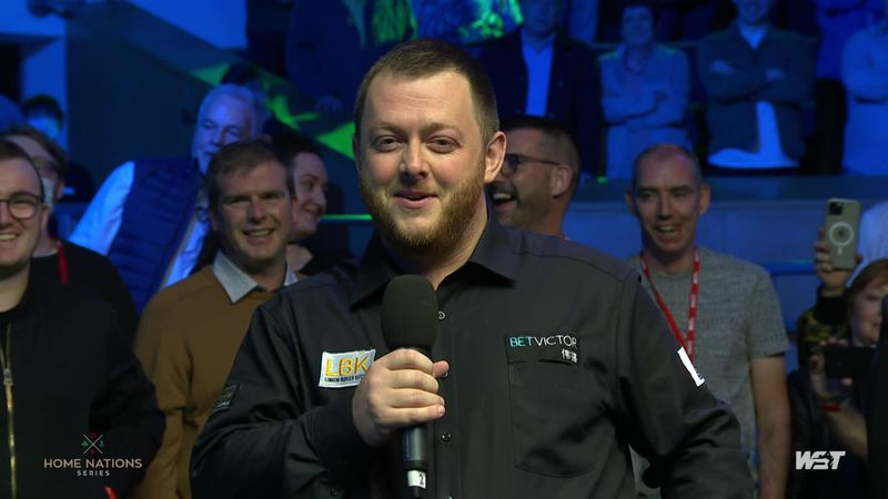 'One of the all-time greats' - Allen pays tribute to Higgins after Northern Ireland Open win