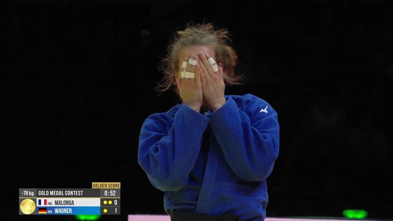 Une victoire au Golden Score et Wagner a chipé le titre de Malonga