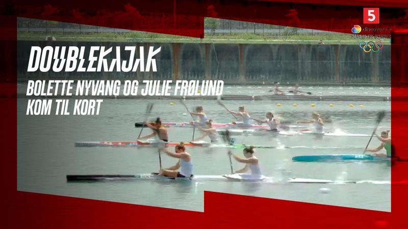 Bolette Nyvang og Julie Frølund kom til kort i indledende heat