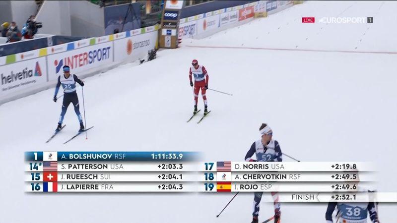 ¡Carrerón de Imanol Rojo! Meritorio 19.º puesto en el 'skiathlon'