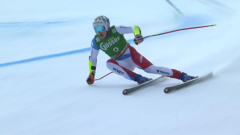 'A massive result' - Odermatt wins Super G in Saalbach