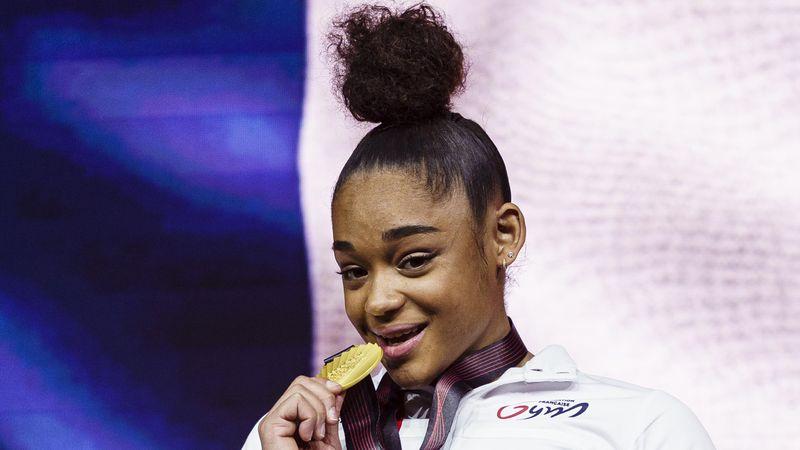 """Mélanie De Jesus Dos Santos : """"Je vais montrer que je fais de la gymnastique avec classe"""""""