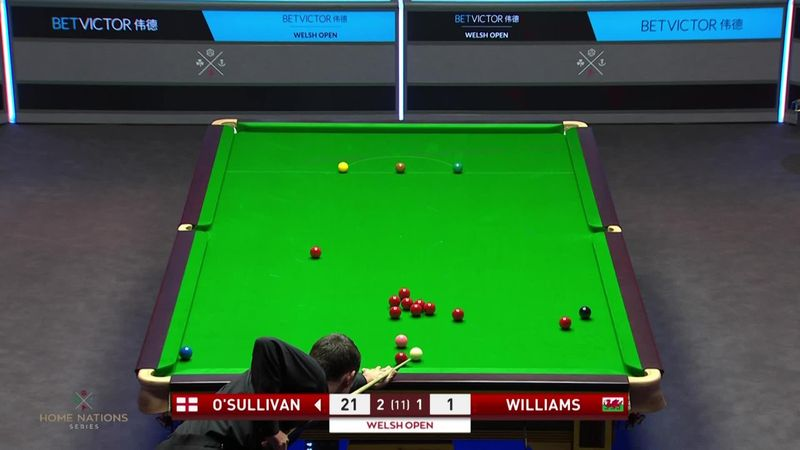 El escandaloso golpe de Ronnie O'Sullivan ante Williams