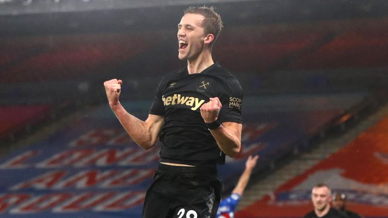 West Ham urcă pe locul 4 în Premier League, după victoria cu Crystal Palace. Rezumatul duelului