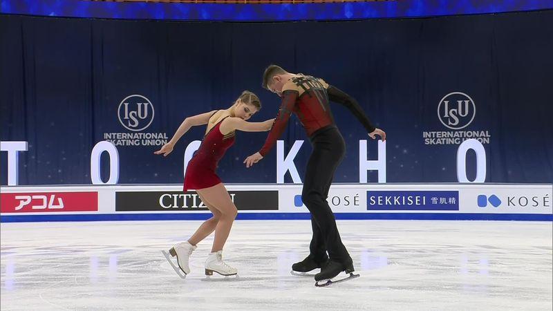 World Championship Stockholm: Mishina - Galliamov - winner