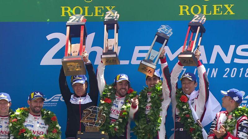 Se høydepunktene fra Le Mans – Toyota til topps