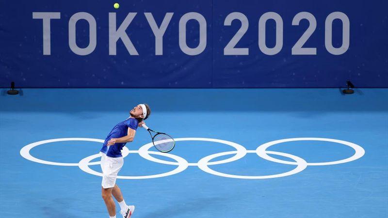 Tokyo 2020 - Tiafoe (USA) ile Tsitsipas (GRE) - Tenis – Olimpiyatların Önemli Anları