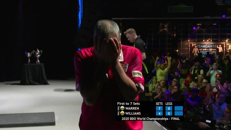 'And he gets tops for the title!' - Warren wins dramatic final
