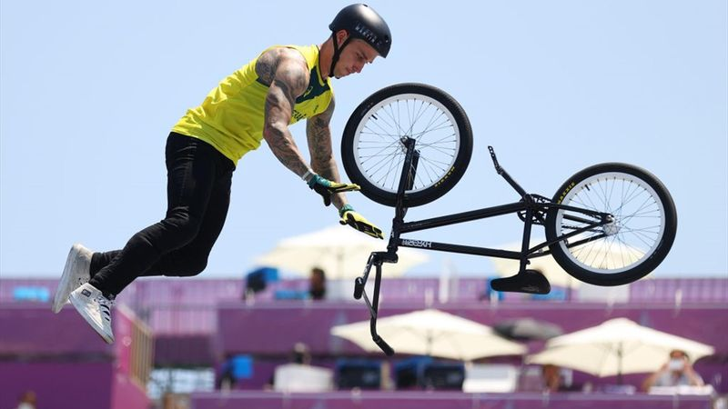 Men's BMX freestyle final - Martin (AUS) victory - Tokyo 2020 - Olympic Highlights