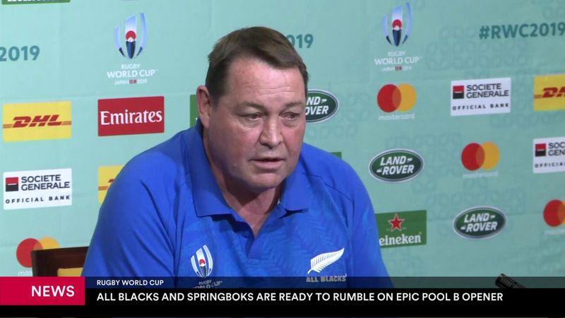 Mundial de Rugby 2019: El Grupo B empieza con un espectacular Nueva Zelanda-Sudáfrica