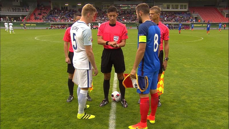 U19 Avrupa Şampiyonası: Fransa-İngiltere (MAÇ ÖZETİ)