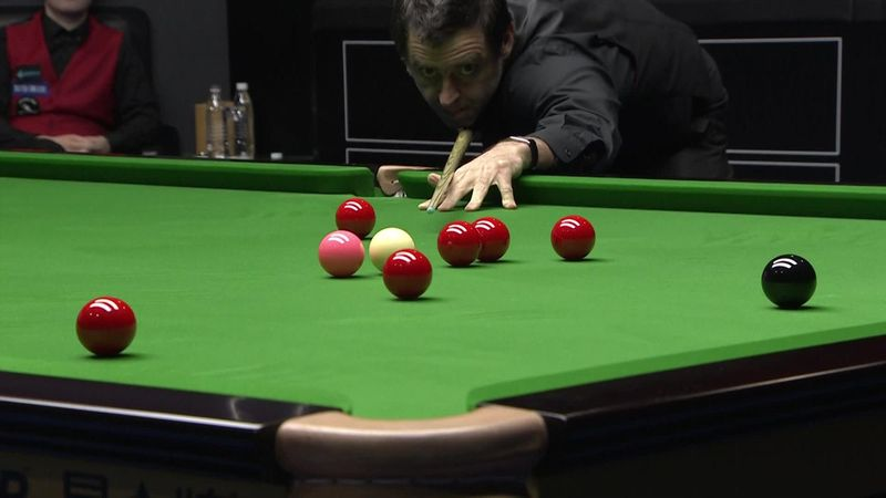 Ronnie O'Sullivan maestoso: break da 147 al China Open