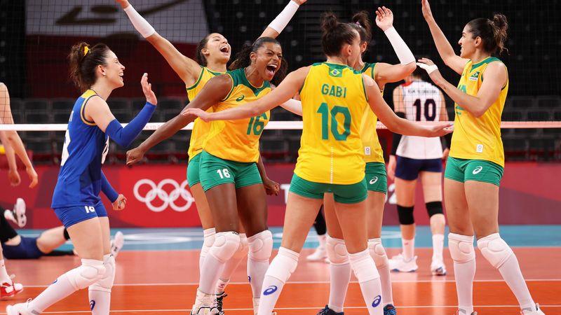 Tokyo 2020: Highlights Volley Ball Brazil Korea