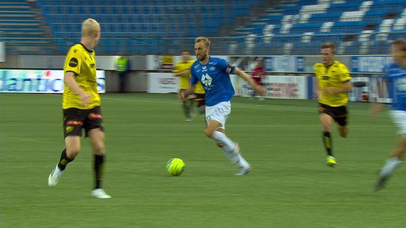 Eliteserien: Molde vs Start (5-0)
