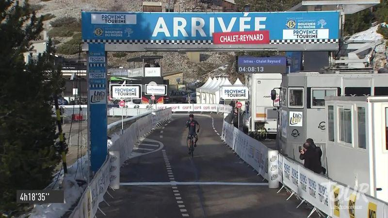 """Ivan Sosa s-a impus pe Mont Ventoux, în Tour de la Provence. Podium de """"5 stele"""""""