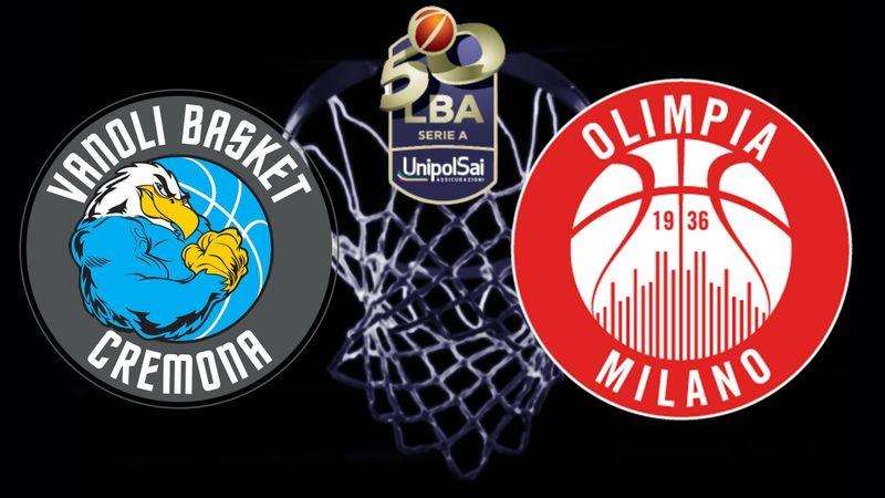 Highlights: Cremona-Olimpia Milano 81-83