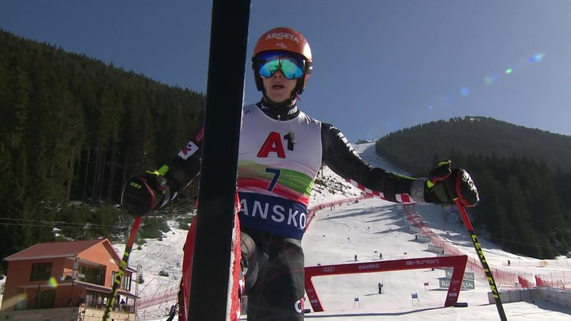 'By a mile' - Zubcic takes Giant Slalom win in Bansko