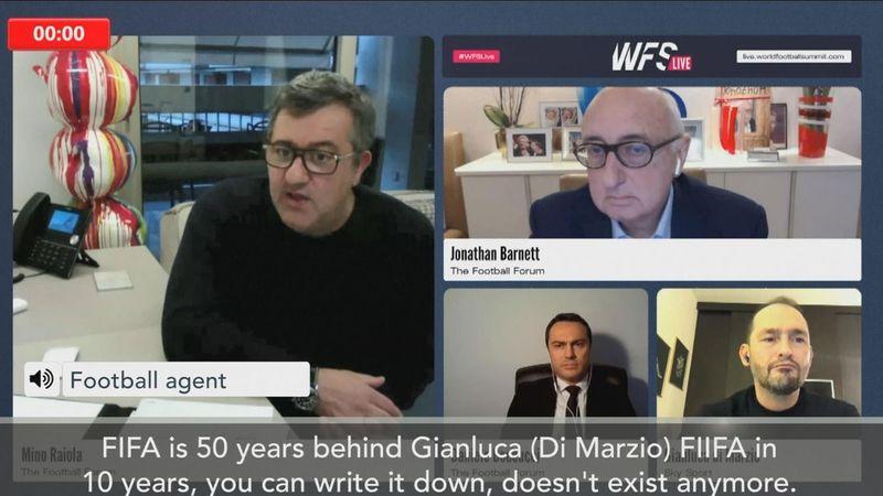 Mino Raiola: FIFA are like the mafia and won't exist in 10 years