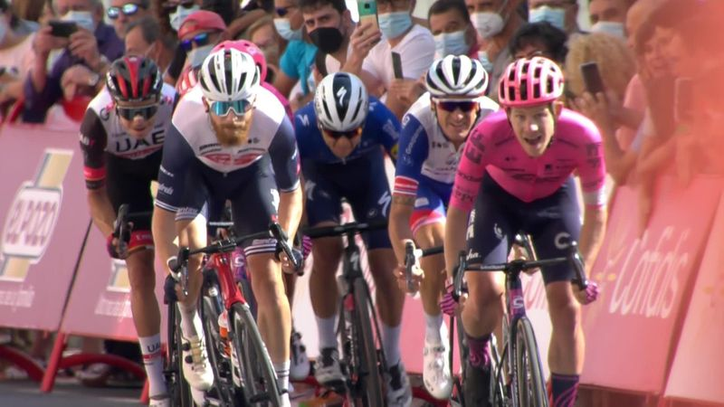 Финиш и третья победа Корта на «Вуэльте»-2021