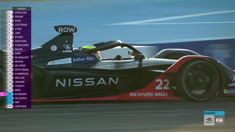 Formula E: Rowland vince gara 5 di Berlino, il campione del mondo da Costa non finisce la gara