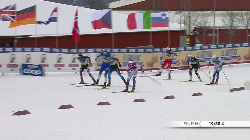 La Slovenia vince la team sprint femminile