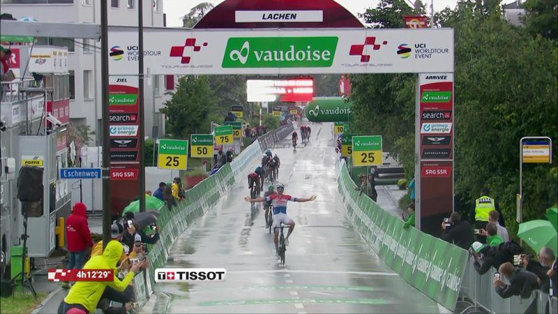 ¡Imparable! Van der Poel gana la segunda etapa en Suiza
