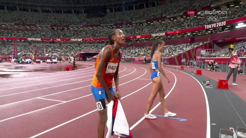 'Remarkable, wow!' - Hassan storms to glory in women's 5000m