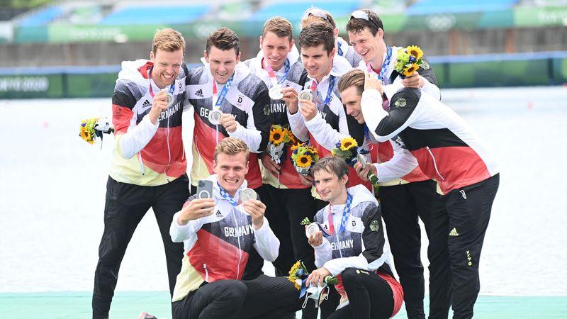 Highlights der Nacht: Deutschland-Achter holt Silber in Final-Krimi
