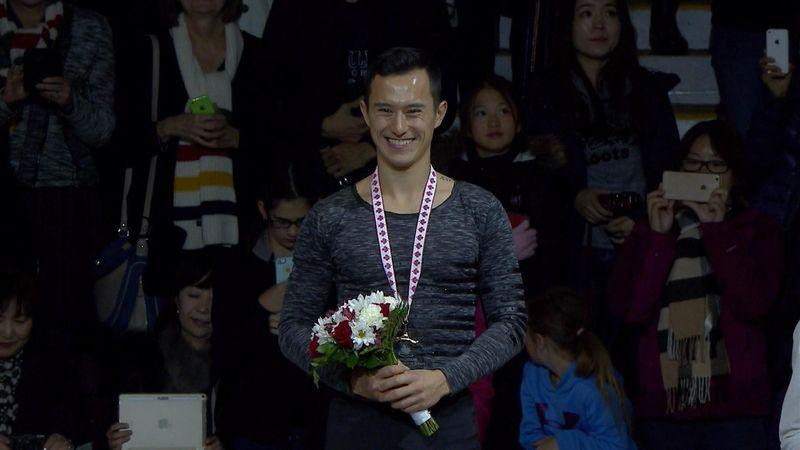 Patrick Chan wins Skate Canada International