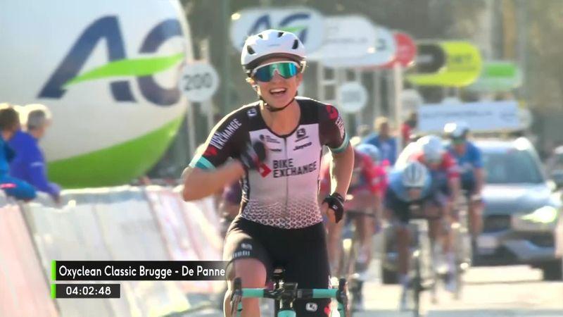 Highlights: Brown sprints to Brugge-De Panne victory