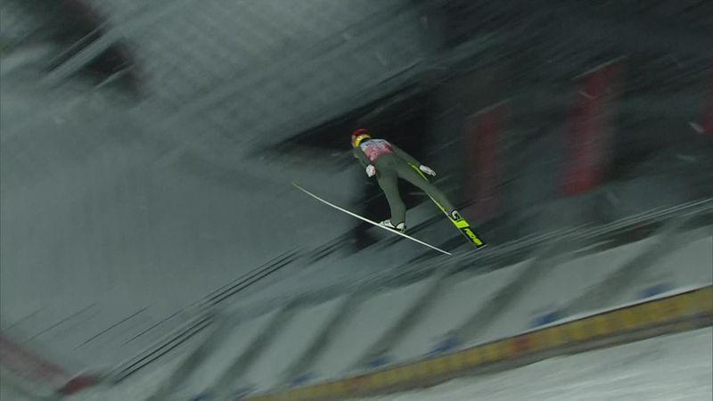 El austríaco Aschenwald se lleva la clasificación en Oberstdorf, primero de los Cuatro Trampolines
