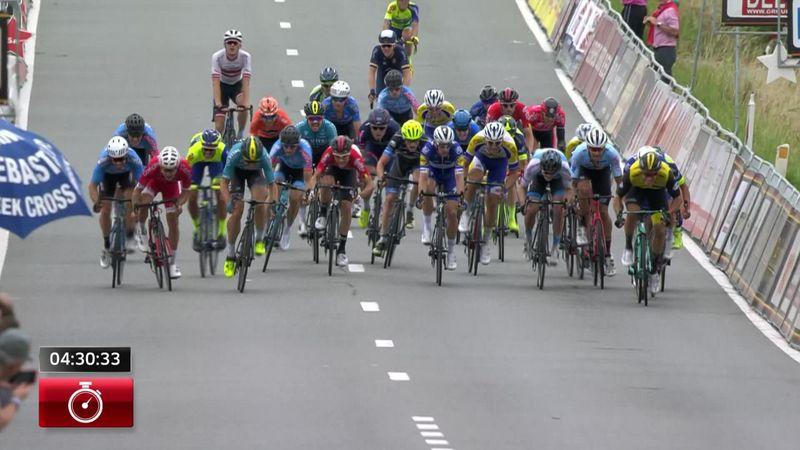 Der Sprint um den Sieg bei Halle - Ingooigem