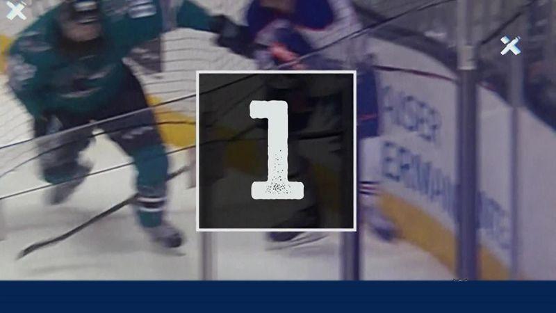 10 лучших сэйвов плей-офф НХЛ. Спасение под номером 4 – вообще космическая вышка