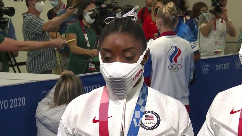 'I didn't want to cost the team a medal' - Biles explains why she pulled out of team event