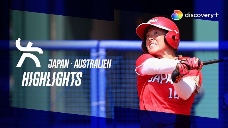 Highlights: Japanske softballdamer tæver Australien