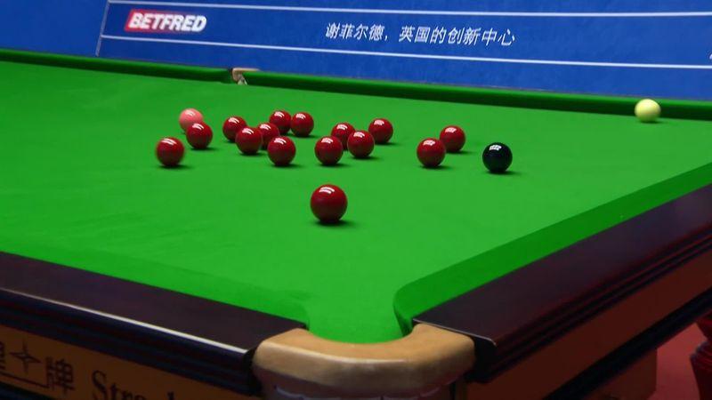 World Championship: Williams five balls combination