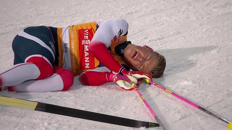 Senza cuffia e occhialoni: Johannes Klaebo vince la 15 km di Ruka