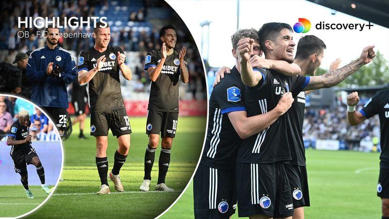 Highlights: FCK fik tiltrængt sejr mod OB efter sprudlende offensivt spil