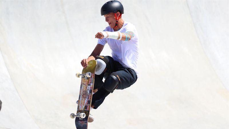 Mit Gips im Skate-Park: Edtmayer trotzt Verletzung in Tokio