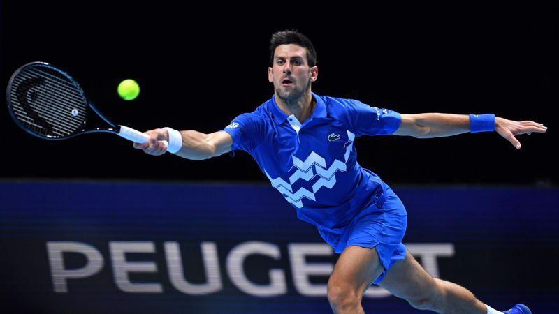 Höjdpunkter: Djokovic - Zverev