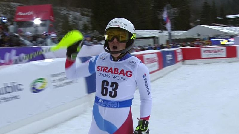 Spindleruv Mlyn slalom: Wendy Holdener's second run