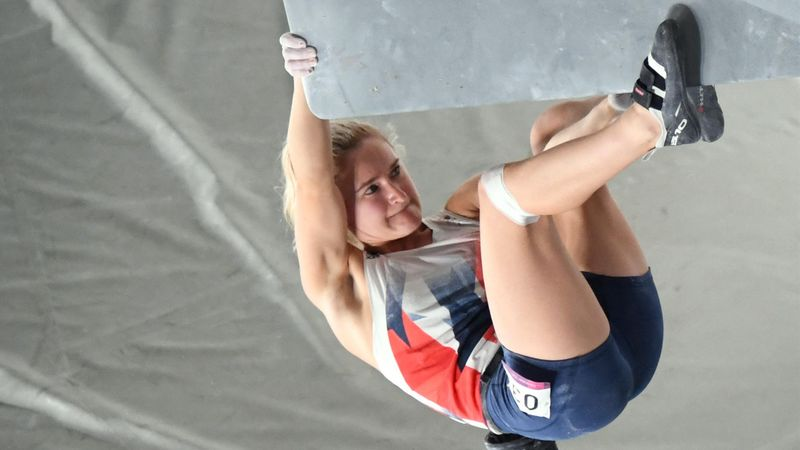 'She's struggling!' - Shauna Coxsey narrowly misses out on sport climbing final