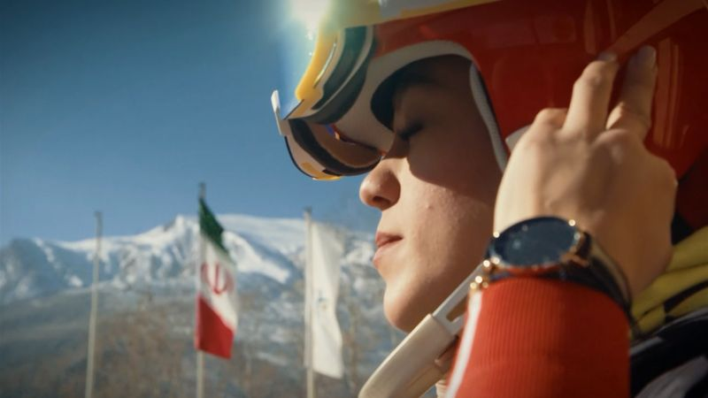 'Hijabs can't stop us' – The skier on a mission to inspire Iran's women