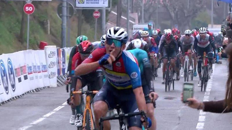 Tour de La Provence: Ballerini a făcut dubla, Alaphilippe a căzut cu 1,2 km înainte de finish