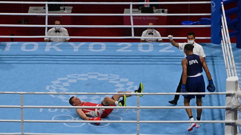 Nyert helyzetből szaladt bele a KO-ba az ukrán boxoló