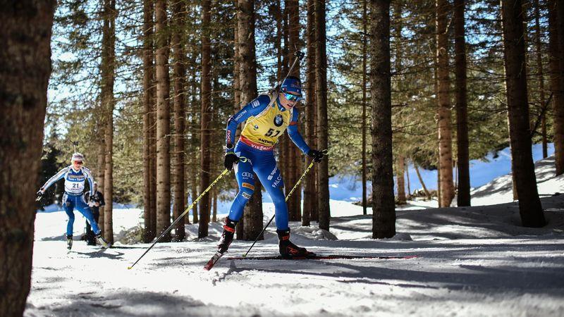 WK Biatlon | Wierer wint sensationele 15 kilometer met minimaal verschil